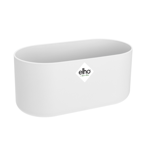Ghiveci Ehlo B.for Soft Duo 27cm alb