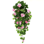 Planta curgatoare Geranium cu flori roz 70cm Artflora