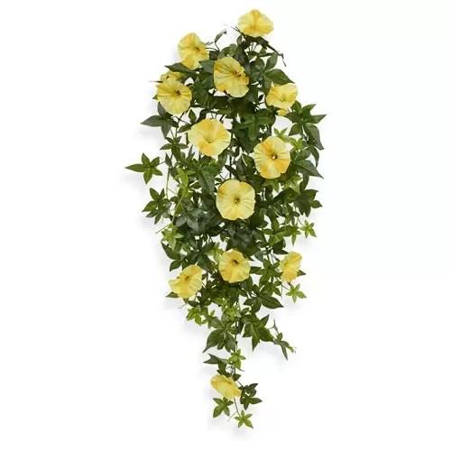 Planta curgatoare Petunia cu flori galbene 70cm Artflora