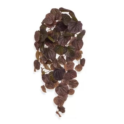 Planta curgatoare artificiala Peperomia 60cm burgund
