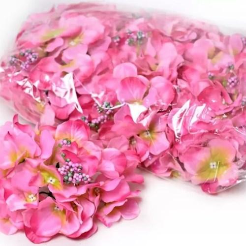 hortensia planta artificiala roz