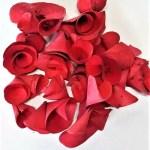 Flori lemn rosu