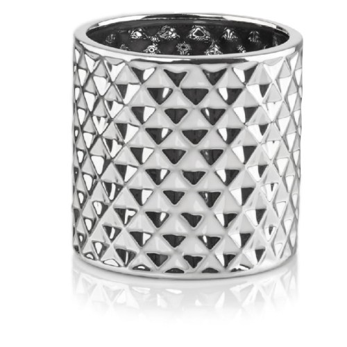 Ghiveci Moon rotund Silver 119