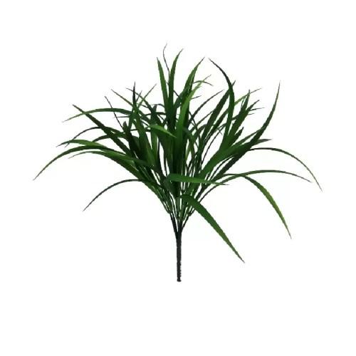 Iarba artificiala verde inchis 44cm