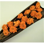 Buchet flori Ming portocaliu