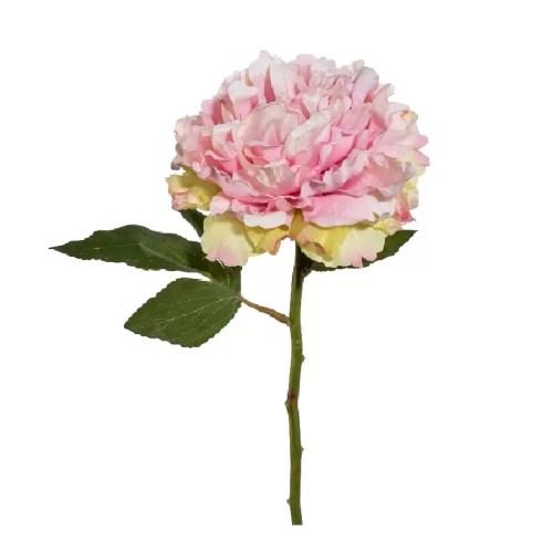 Bujor artificial Roz 39cm
