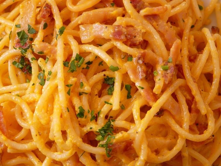 Spaghetti? Soo romantisch!