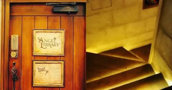 Angel Library Kafe Tersembunyi Di Tokyo Jepang