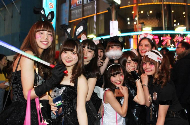 Tampilan Fashion Menarik Dalam Festival Halloween Shibuya