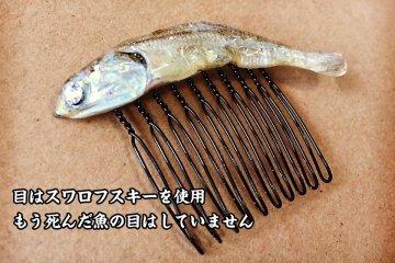 Desainer Jepang Ciptakan Aksesoris Fashion Dari Ikan Sarden Kering
