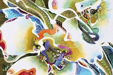 Desain Batik Dari Seniman Jepang Yuko Nakata