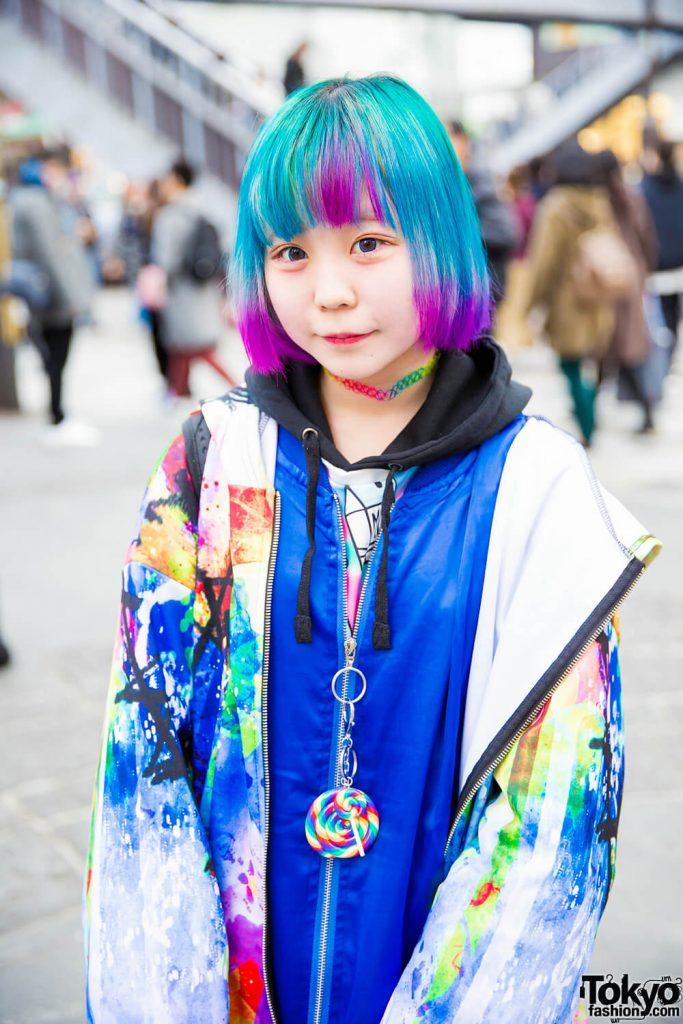 Busana Street Style Penuh Warna Dalam Harajuku Fashion Jepang Oleh Reikoppu