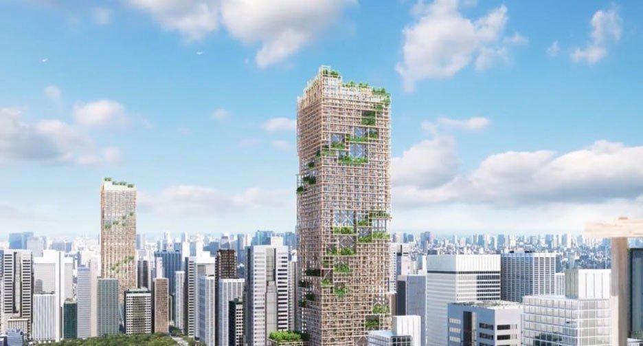 okyo Akan Miliki Gedung Kayu Tertinggi Didunia Pada Tahun 2041