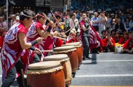 Festival Menari Tradisional Dalam Shibuya Ohara Matsuri