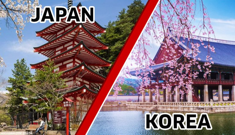 5 Perbedaan Jepang Dengan Korea Yang Harus Anda Ketahui