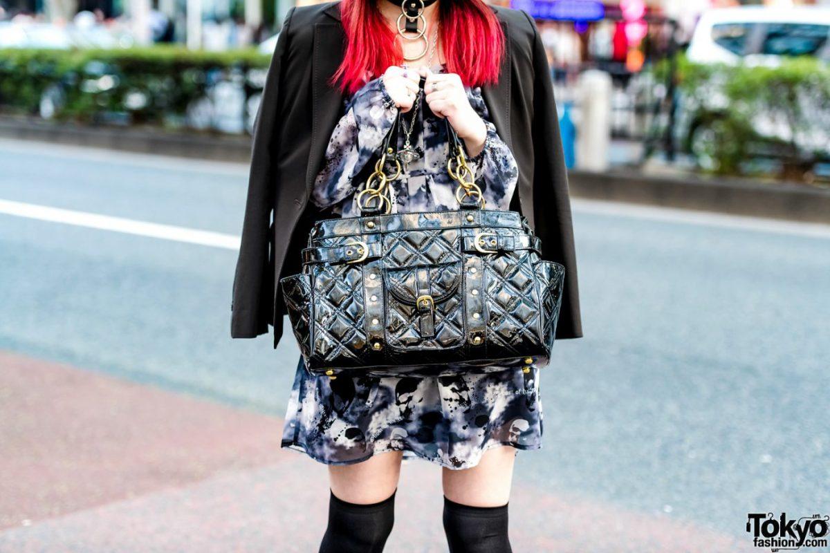 Gaya Gothic Dan Casual Yang Digabung Oleh Remon Dalam Harajuku Fashion Jepang