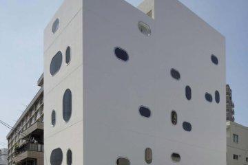 Gedung Perkantoran Unik Bernama Tetote Note Karya Arsitek Yoshihiro Kato