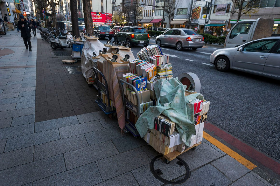 Distrik Jinbocho Yang Merupakan Surga Bagi Pecinta Buku Di Tokyo