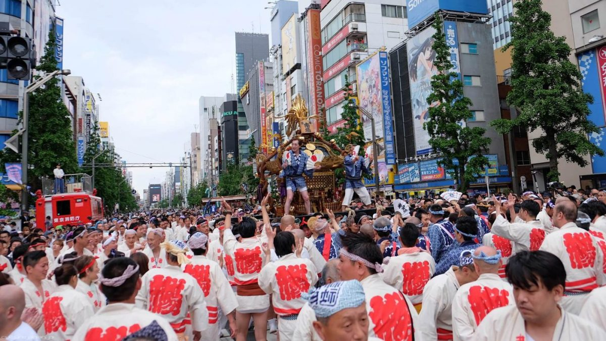 Salah Satu Festival Shinto Terbesar Di Jepang Kanda Matsuri