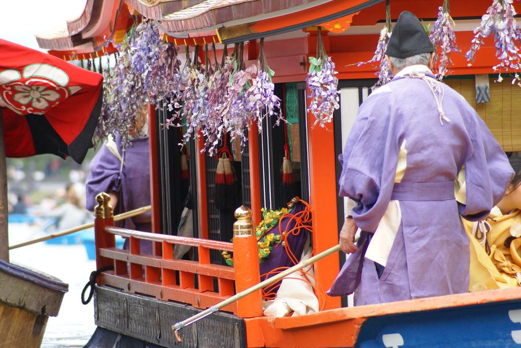 Parade Perahu Tradisional Yang Indah Dalam Mifune Matsuri