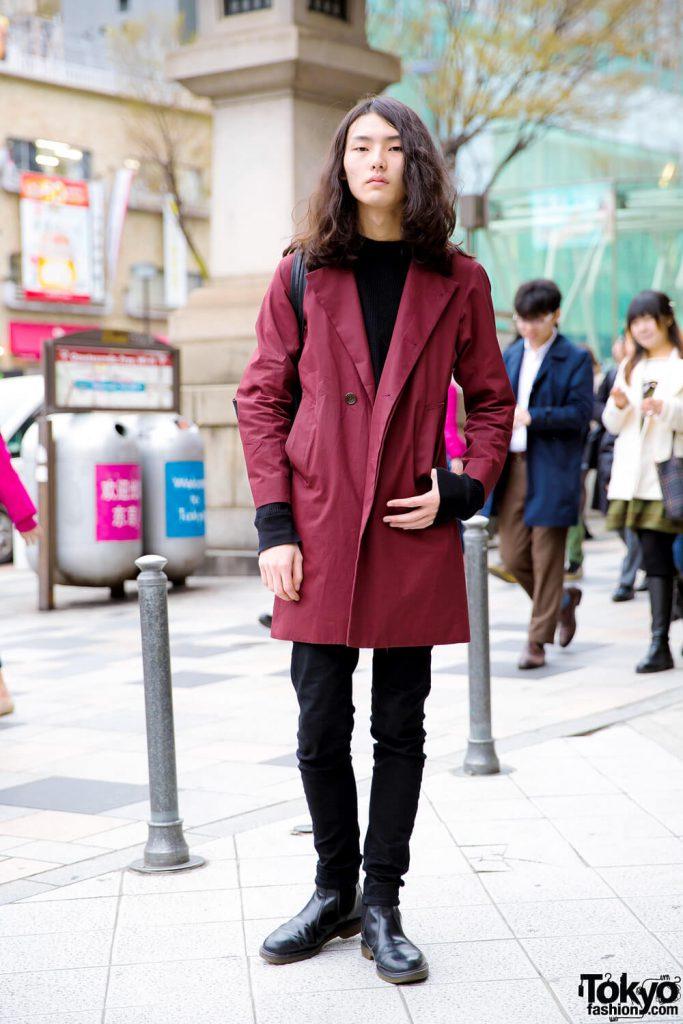 Tampilan Minimalis Dan Casual Dalam Harajuku Fashion Jepang Oleh Itsuki Sakai