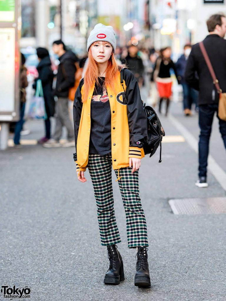 Gaya Street Casual Dari Ashley Dalam Harajuku Fashion Jepang