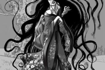 Harionago Sosok Hantu Wanita Dengan Rambut Yang Super Panjang
