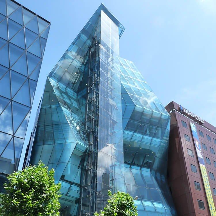5 Gedung Dengan Desain Unik Di Tokyo