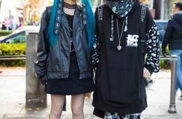 Gaya Monokrom Sporty Hitam Dalam Harajuku Fashion Jepang