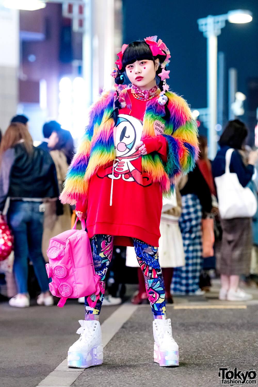 Busana Colorful Kawaii Oleh Chami Dalam Harajuku Fashion Jepang