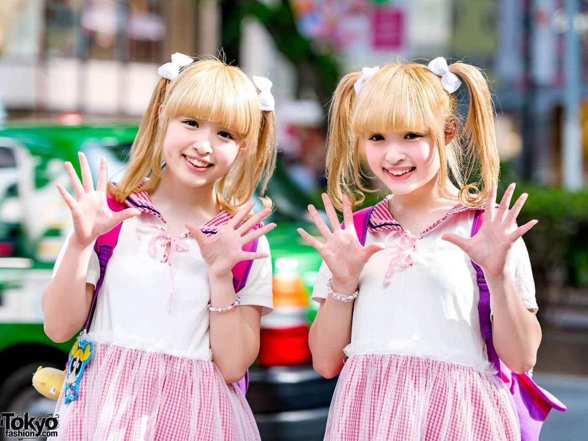Busana Kawaii Dari Si Kembar Kuniku Dalam Harajuku Fashion Jepang