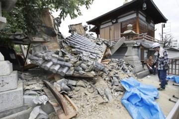 3 Meninggal Dunia Dan Lebih Dari 200 Orang Terluka Akibat Gempa Di Osaka