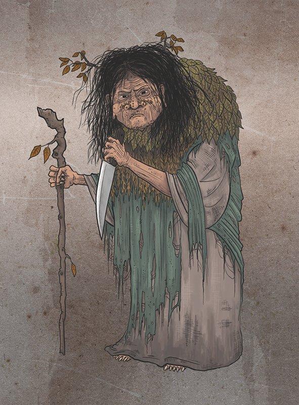 Nenek Misterius Pemakan Manusia Yang Disebut Yama Uba