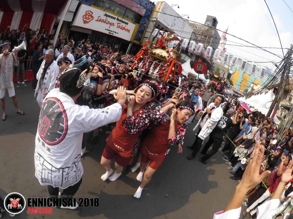 Kesuksesan Dan Kemeriahan Festival Ennichisai 2018 Di Kawasan Blok M