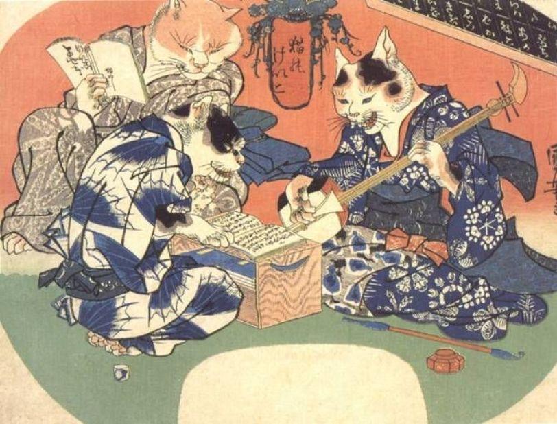 Mitos Legenda Iblis Kucing Yang Disebut Bakeneko