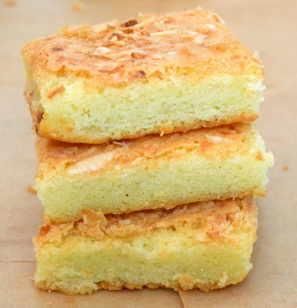 Resep Membuat Butter Mochi Rasa Kelapa