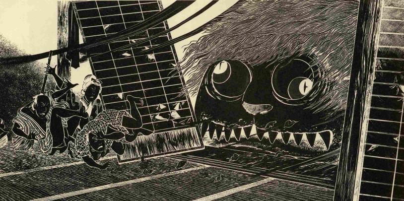 Legenda Hantu Okamuro Yang Menunggu Di Depan Pintu