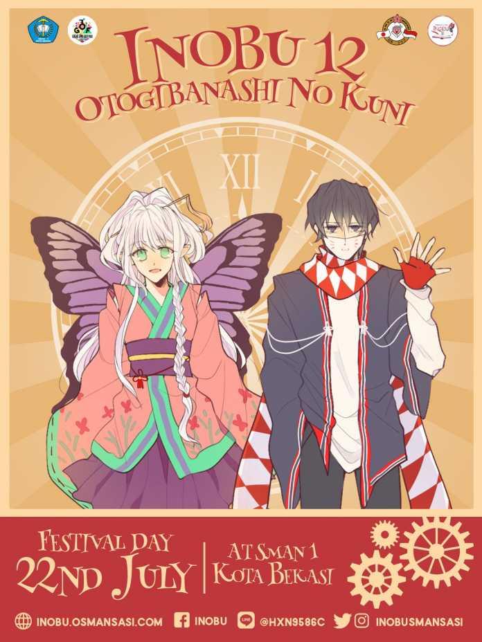 Keseruan Negeri Dongeng Jepang Dalam Festival INOBU 12 SMAN 1 Bekasi