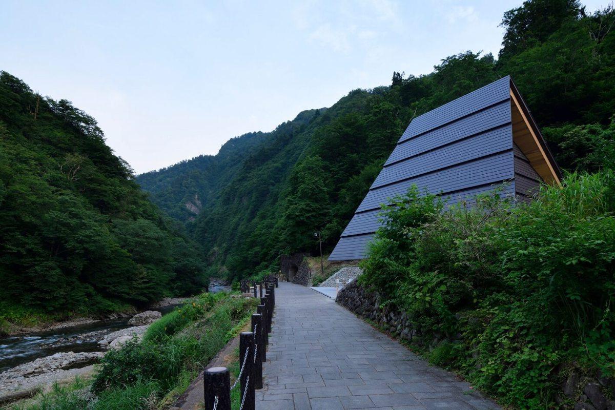 Desain Unik Studio Arsitektur MAD Dalam Sebuah Lokasi Pegunungan Prefektur Niigata