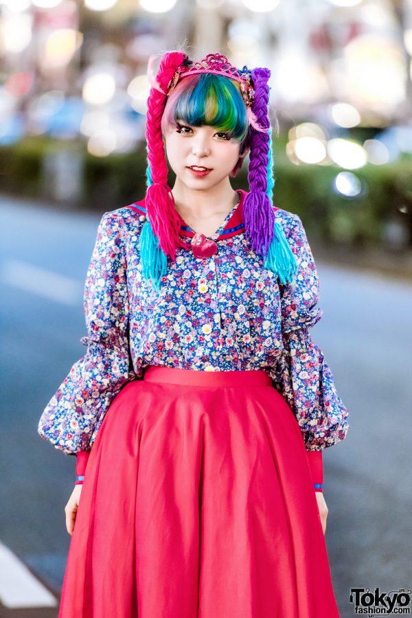Lisa Terinspirasi Gaya Boneka Wanita Harajuku Dengan Gaya Jalanan 2