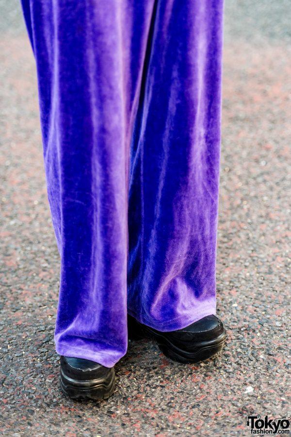 Trio Harajuku Girl Tampil Dengan Mode Edgy Street Style Fashion Jepang 2