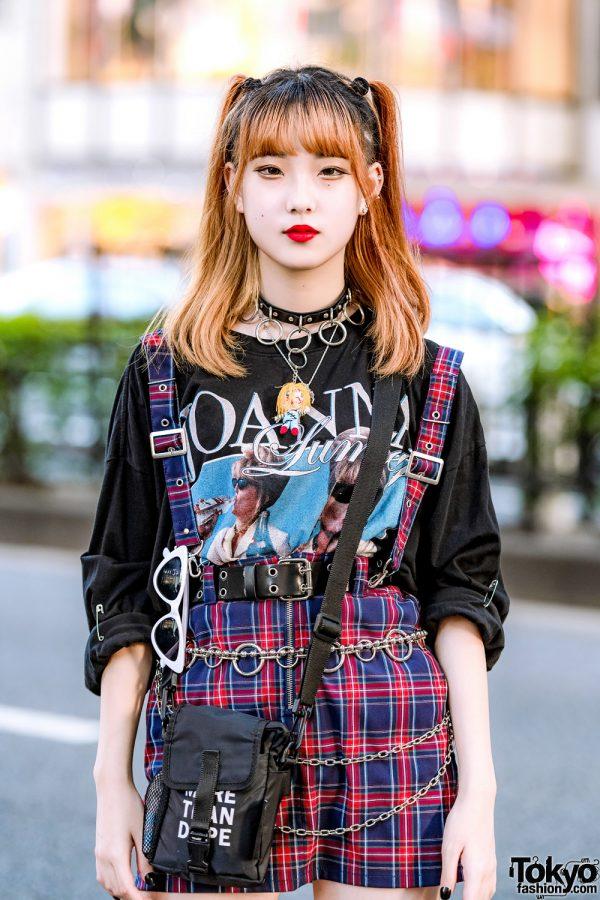 Trio Harajuku Girl Tampil Dengan Mode Edgy Street Style Fashion Jepang 4