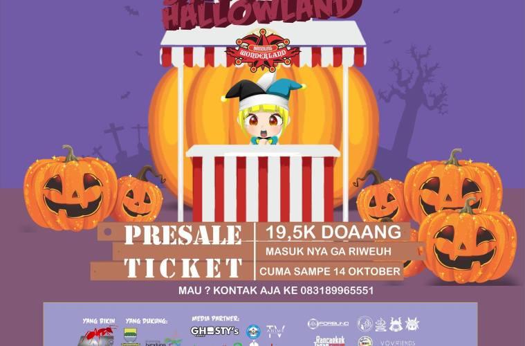 Halloween Lebih Seru Dengan Festival Bandung Hallowland 2018 !