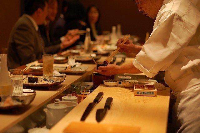 Restoran Kyubey Sushi Ginza Tokyo 2