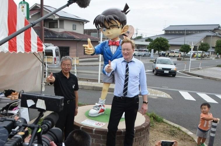 Yuk Lihat Lucunya Conan O'Brien Mempelajari Budaya Jepang !