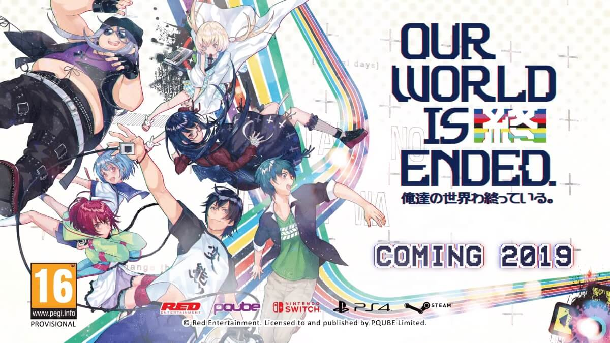 "Red Entertainment Akan Hadirkan Game ""Our World Is Ended"" Untuk Multiplatform !"