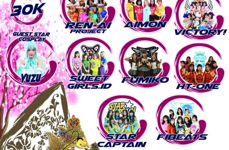 Menikmati Perpaduan Budaya Dalam Event TRESNO NO MATSURI Di Mall Dinoyo City Malang