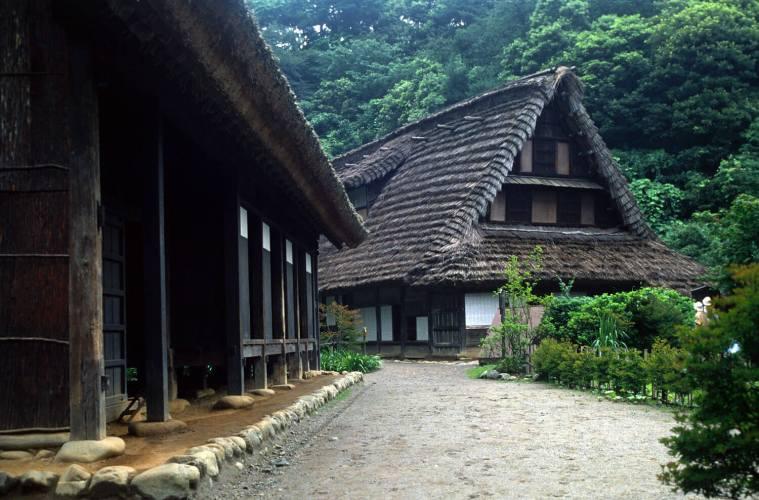 """Rumah Para Petani Jepang Yang Disebut """"Minka"""" Dan Beberapa Fakta Menarik Tentang Rumah Tradisional Ini !"""