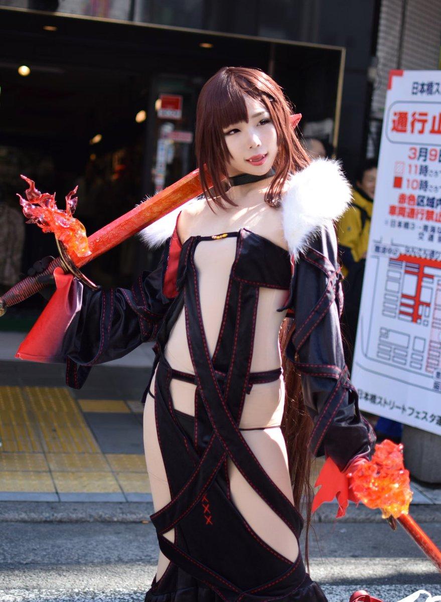 Intip Kemeriahan Cosplay Dalam Festival Nipponbashi Street Festa 2019 Di Osaka !