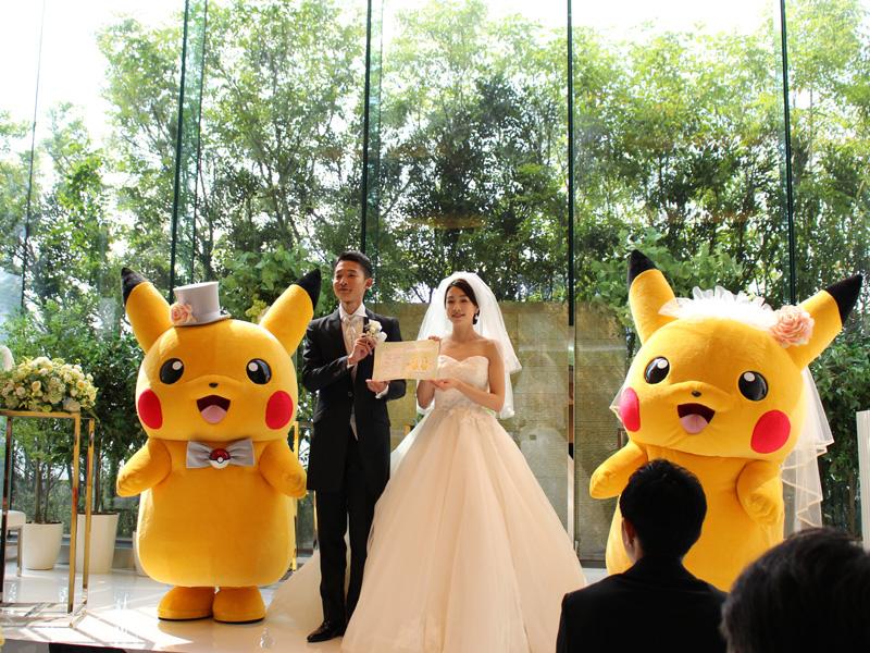 Jepang Miliki Layanan Pernikahan Untuk Penggemar Setia Pokemon